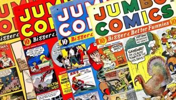 Jumbo Comics från Eisner & Iger Studio
