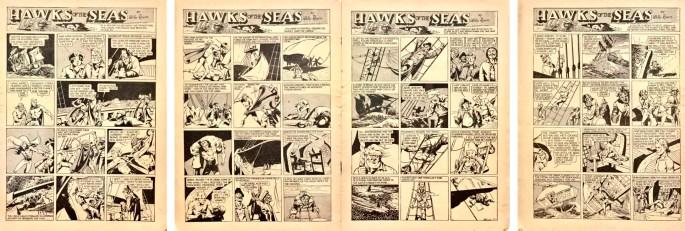 Hawks of the Seas ur Jumbo Comics #8 (1938). ©Fiction House