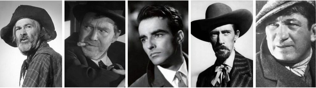 Några filmstjärnor som dyker upp som seriefigurer i västernserier.