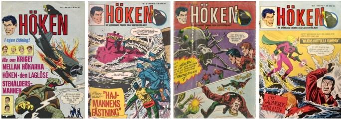 Första året med Höken (1964) i den andra versionen. ©Centerförlaget