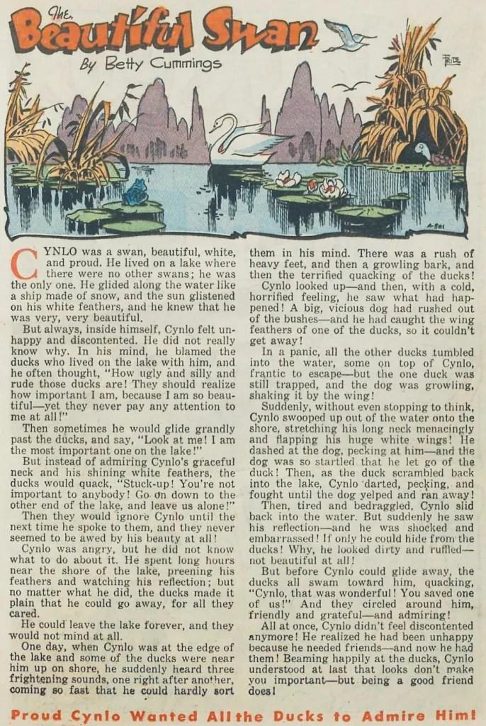 Djur åt Standard, ur Goofy Comics #32 (juni 1949). ©Standard
