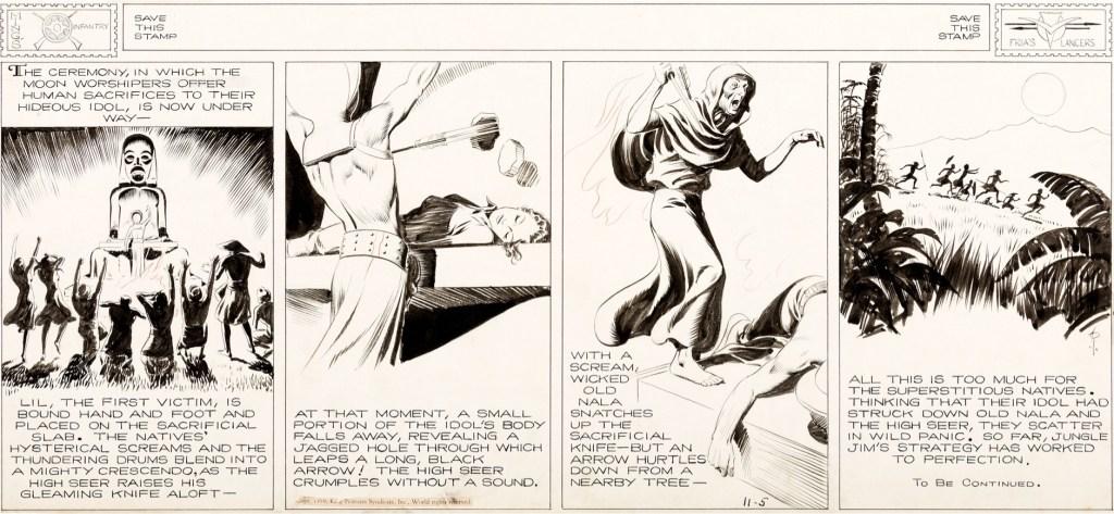 Original till strippen från 5 november 1939. ©KFS