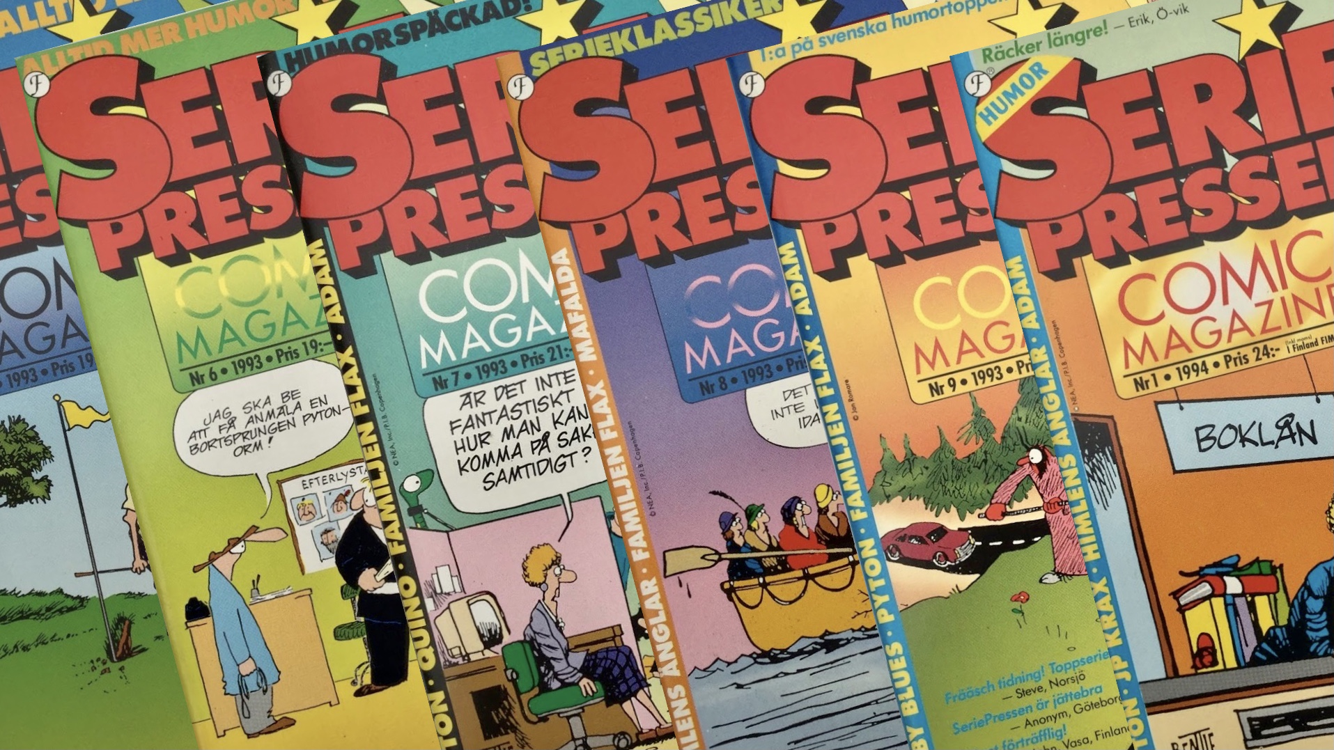SeriePressen 1993-94