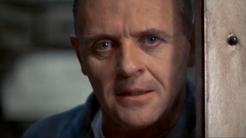 Ur scenen när Hannibal Lecter berättar om Chiantin under intervjun med Clarice Starling i När lammen tystnar (The Silence of the Lambs). ©Orion