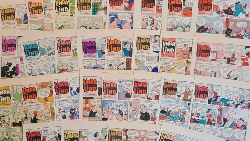 Några urklipp ur Fickjournalen med Linda Lind. ©Bulls