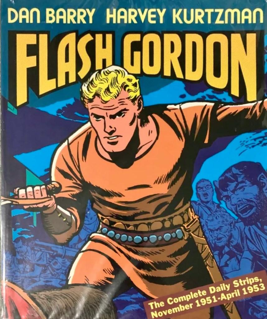 Omslag till Flash Gordon The Complete Daily Strips (1988). ©Kitchen Sink