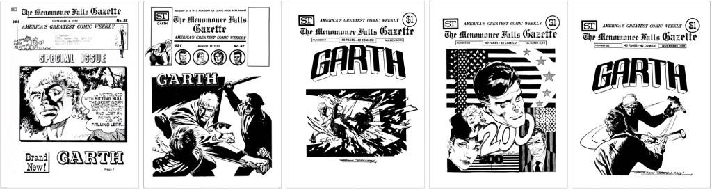Garth fanns med på omslaget till MFG #38, #59, #87, #133, #200 och #205. ©Street Enterprises