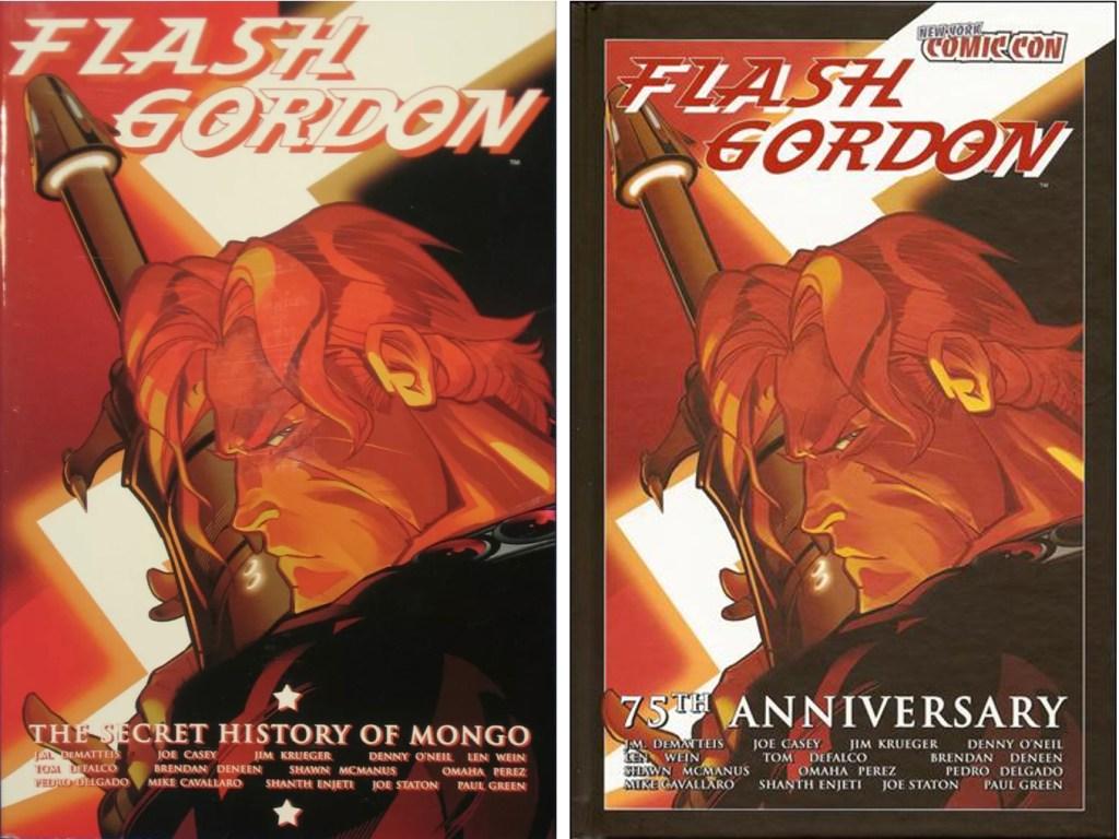 Omslag till The Secret History of Mongo och 75th Anniversary Special (2009). ©Ardden