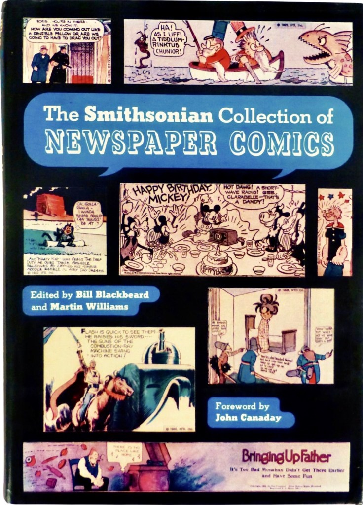 Omslag till The Smithsonian Collection of Newspaper Comics (1977). ©Smithsonian Institution