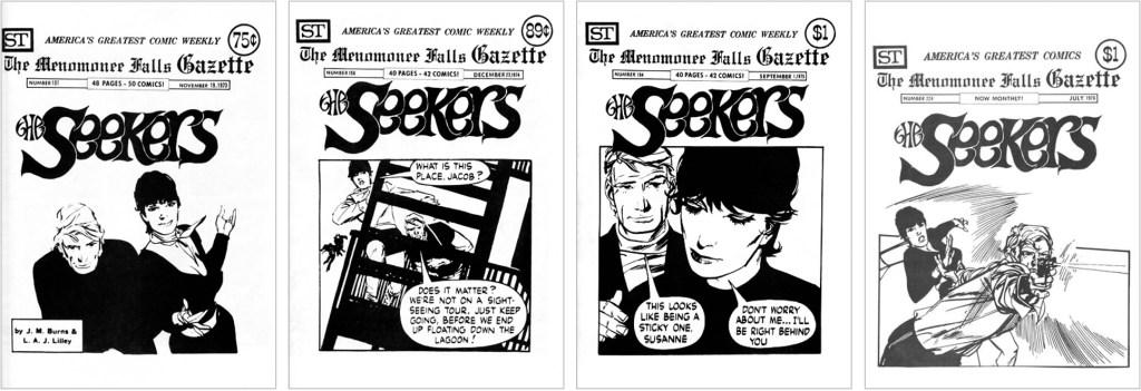 The Seekers fick plats på omslaget i MFG #101 #158, #194 och #224. ©Street Enterprises