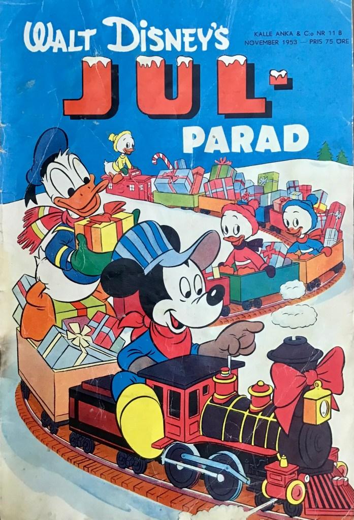 Omslag till Kalle Anka & C:o nr 11B, 1953. ©Richters/Disney