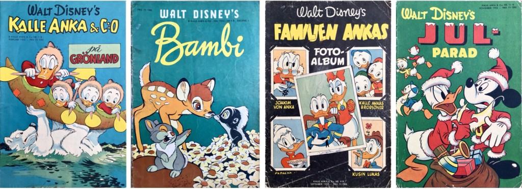 B-nummer av Kalle Anka & C:o 1952. ©Richters/Disney