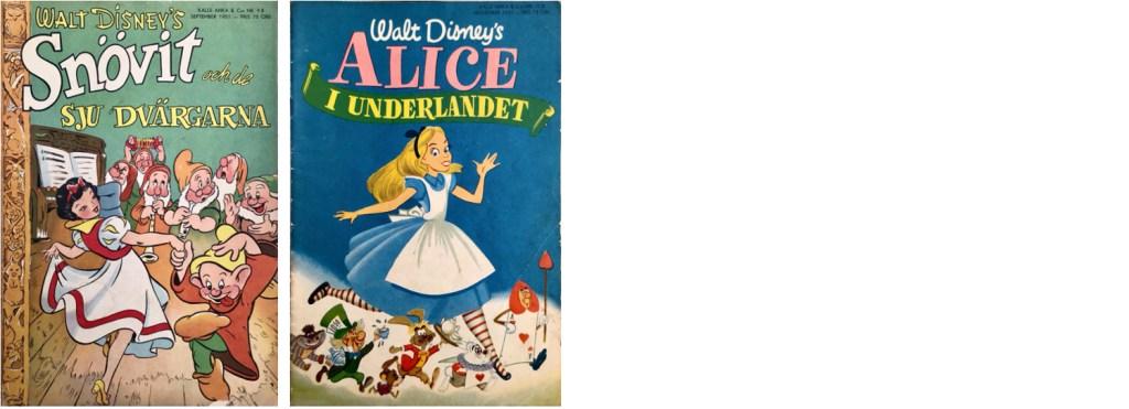 B-nummer av Kalle Anka & C:o 1951. ©Richters/Disney