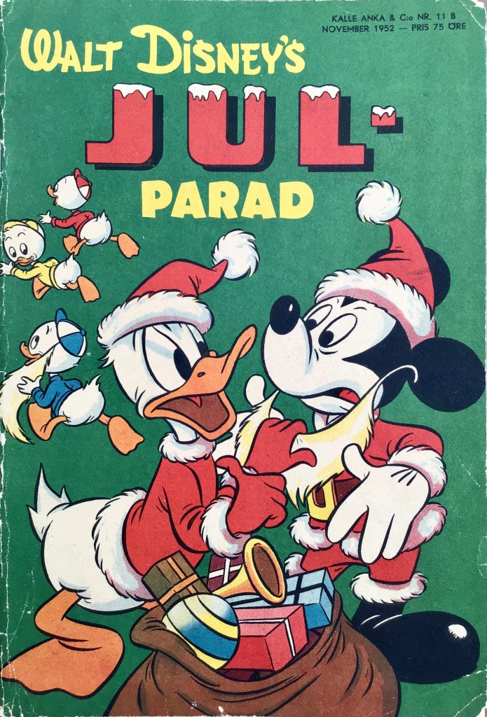 Omslag till Kalle Anka & C:o nr 11B, 1952. ©Richters/Disney