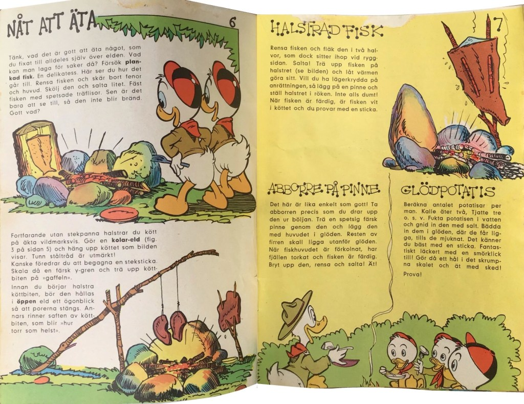 Sidan 6-7: Nåt att äta. ©Hemmets Journal