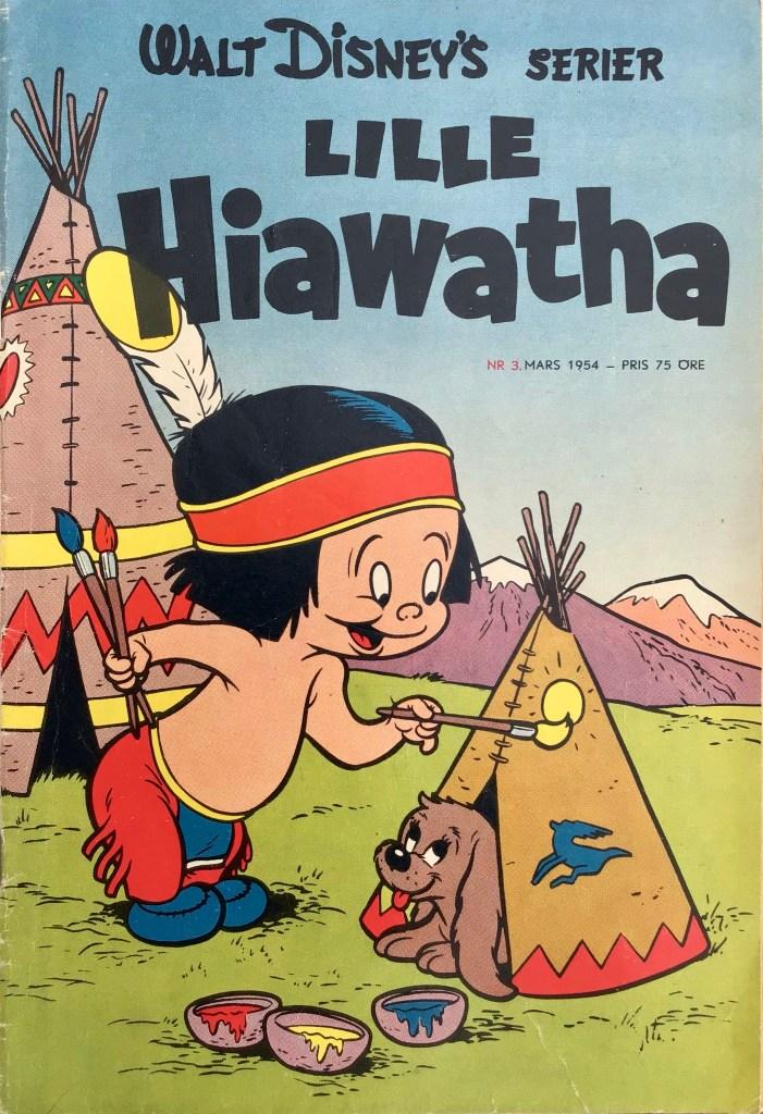 Omslag till Walt Disney's serier nr 3, 1954. ©Richters/Disney