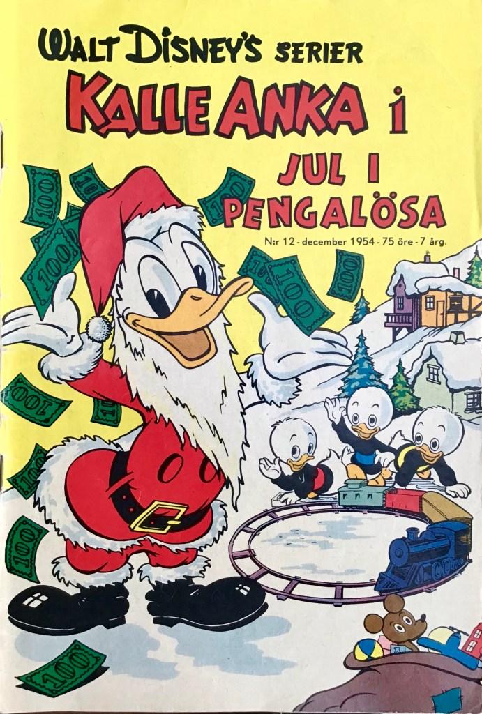 Omslag till Walt Disney's serier nr 12, 1954. ©Richters/Disney