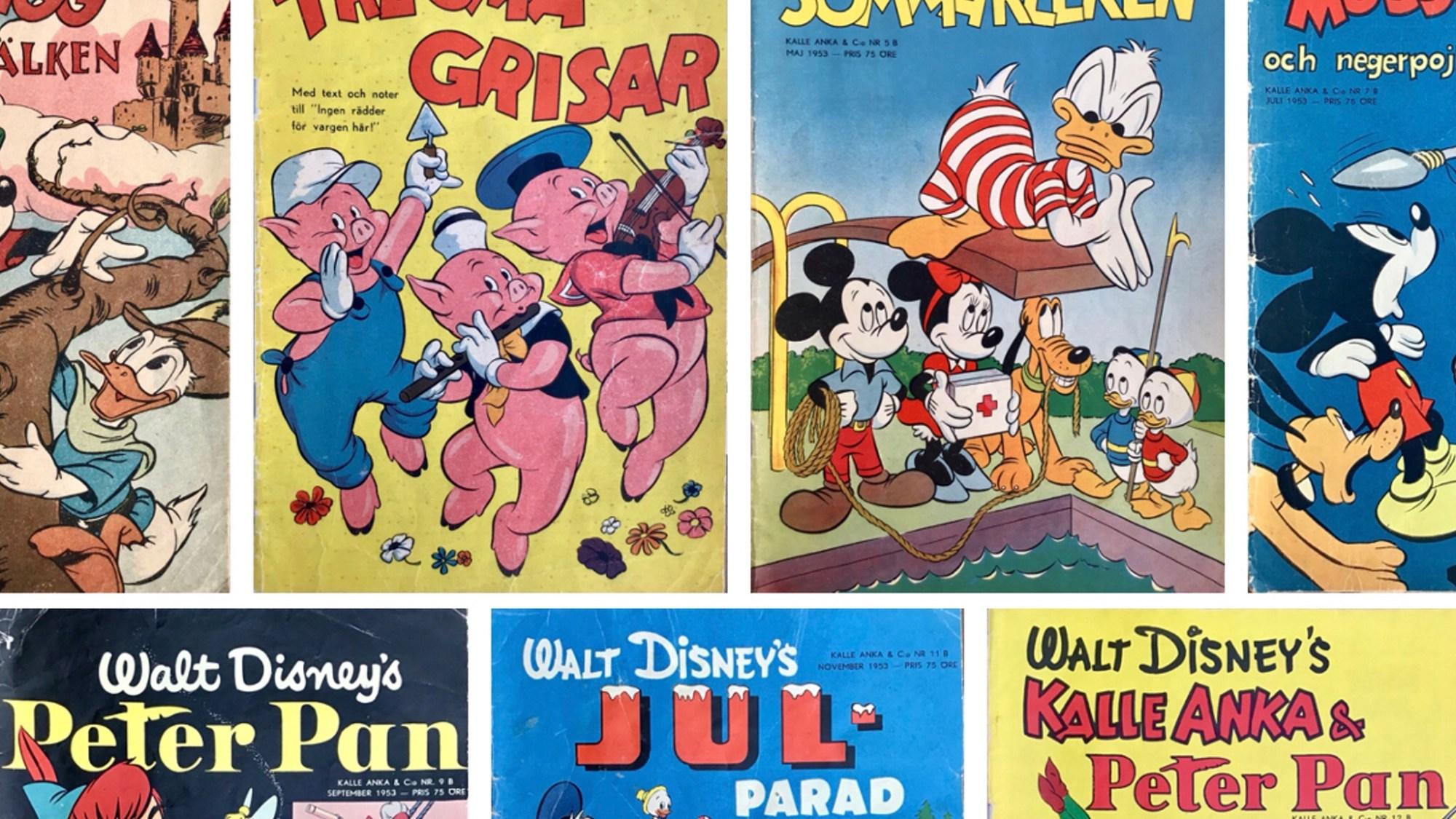 Walt Disney's serier 1953