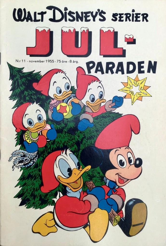 Omslag till Walt Disney's serier nr 11, 1955. ©Richters/Disney