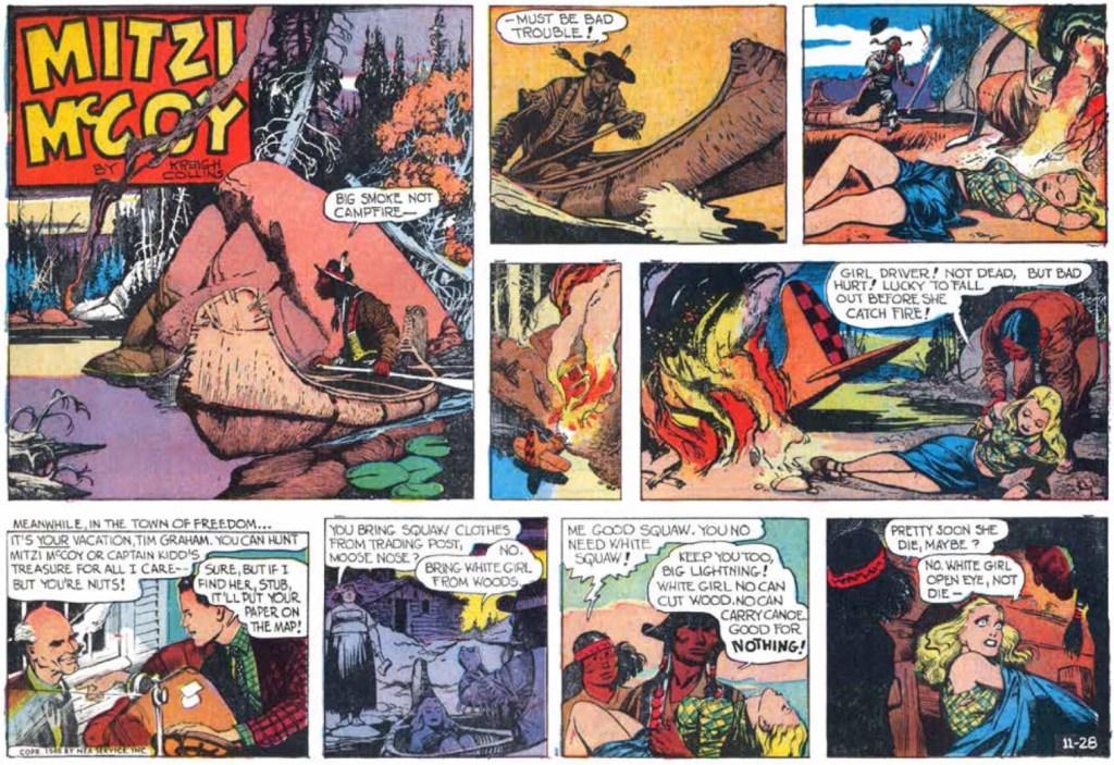 Söndagsserien från 28 november 1948. ©NEA/Picture This Press