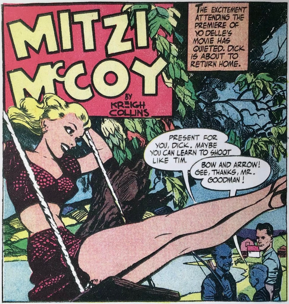 En serieruta med Mitzi McCoy.