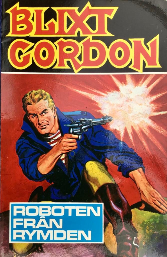 Omslag till seriealbumet Blixt Gordon (1980). ©Semic