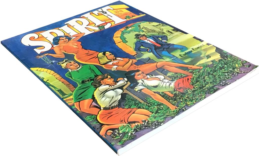Spirit (1976) var är en volym på totalt 68 sidor. ©Carlsen/Eisner