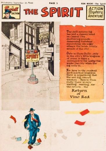 Inledande sida i original, från 25 september 1949. ©Register&Tribune