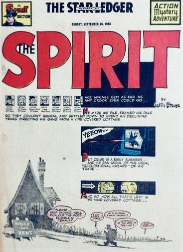 Inledande sida i original, från 26 september 1948. ©Register&Tribune