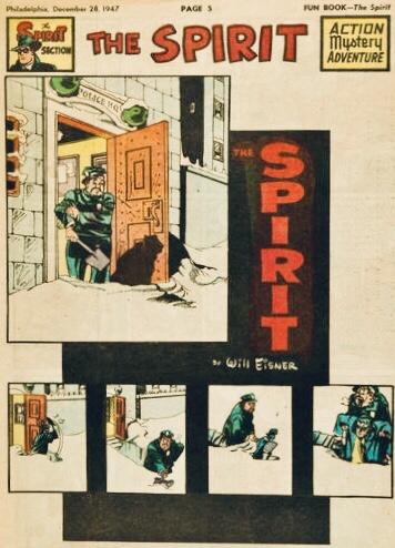 Inledande sida i original, från 28 december 1947. ©Register&Tribune
