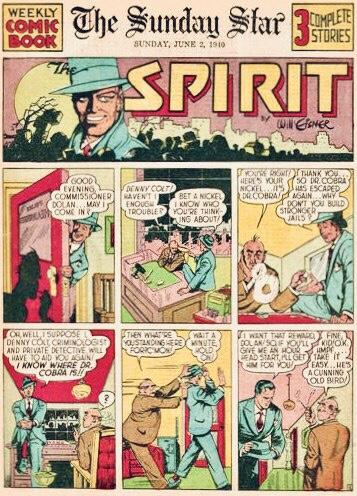 Inledande sida i original, från 2 juni 1940. ©Register&Tribune
