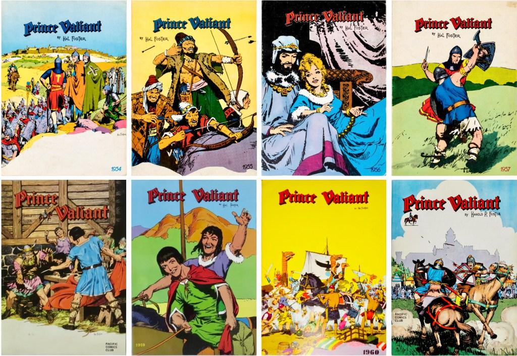 1978-83 utkom åtta samlingsvolymer till. ©Pacific