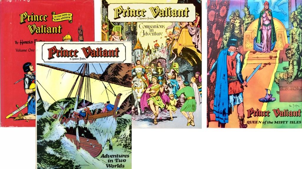 Det utkom fyra samlings volymer 1974-78. ©Nostalgia Press