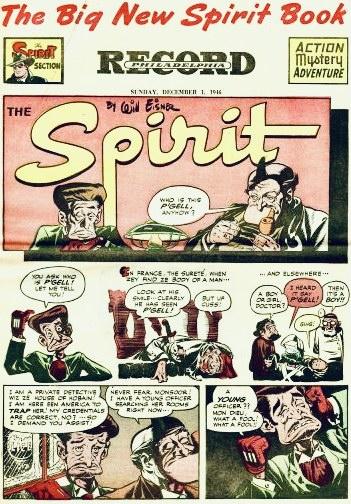 Inledande sida i original, från 1 december 1946. ©Register&Tribune