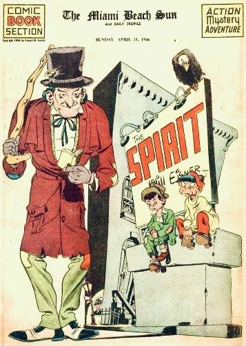 Inledande sida i original, från 21 april 1946. ©Register&Tribune