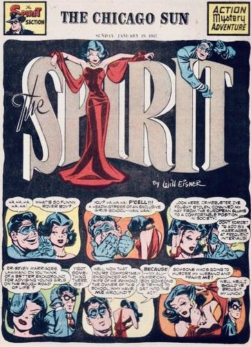 Inledande sida i original, från 19 januari 1947. ©Register&Tribune