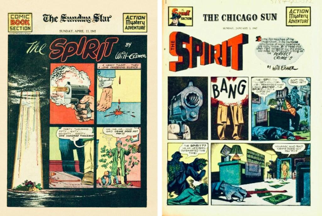 Inledande titelsida till Spirit Section #46 och #345. ©Register&Tribune