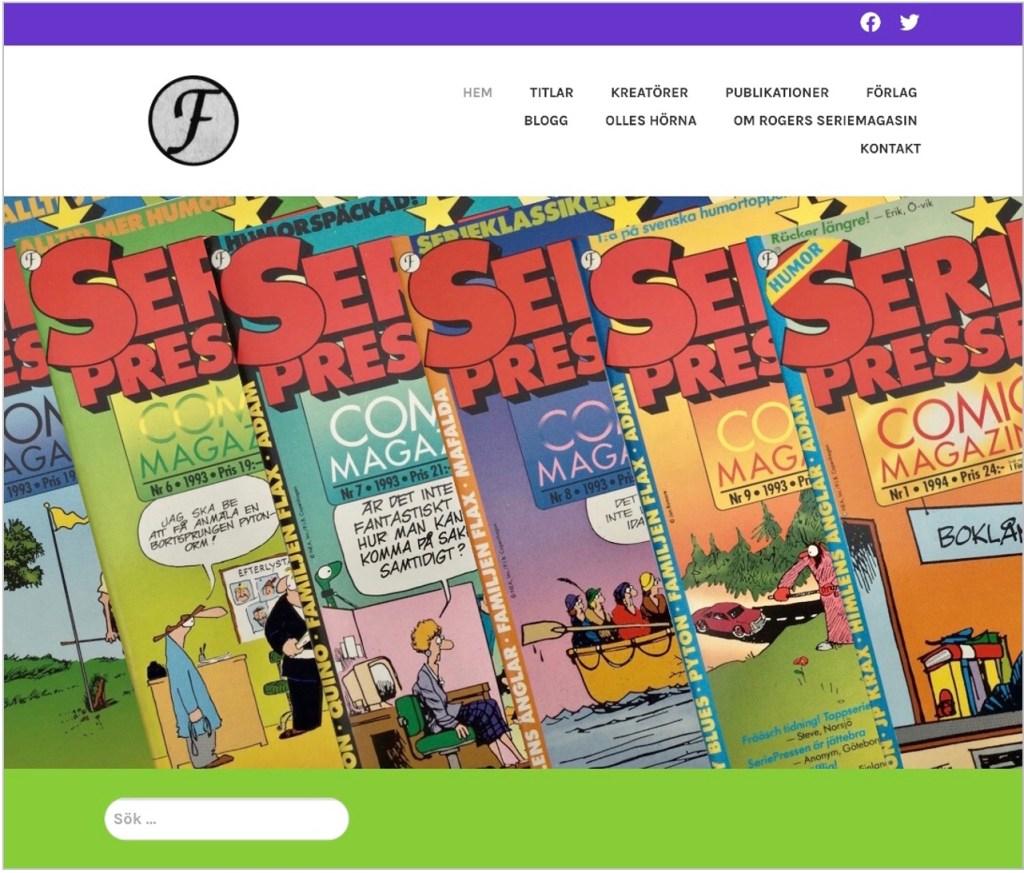 Omdömen om webbplatsen rogersmagasin.com