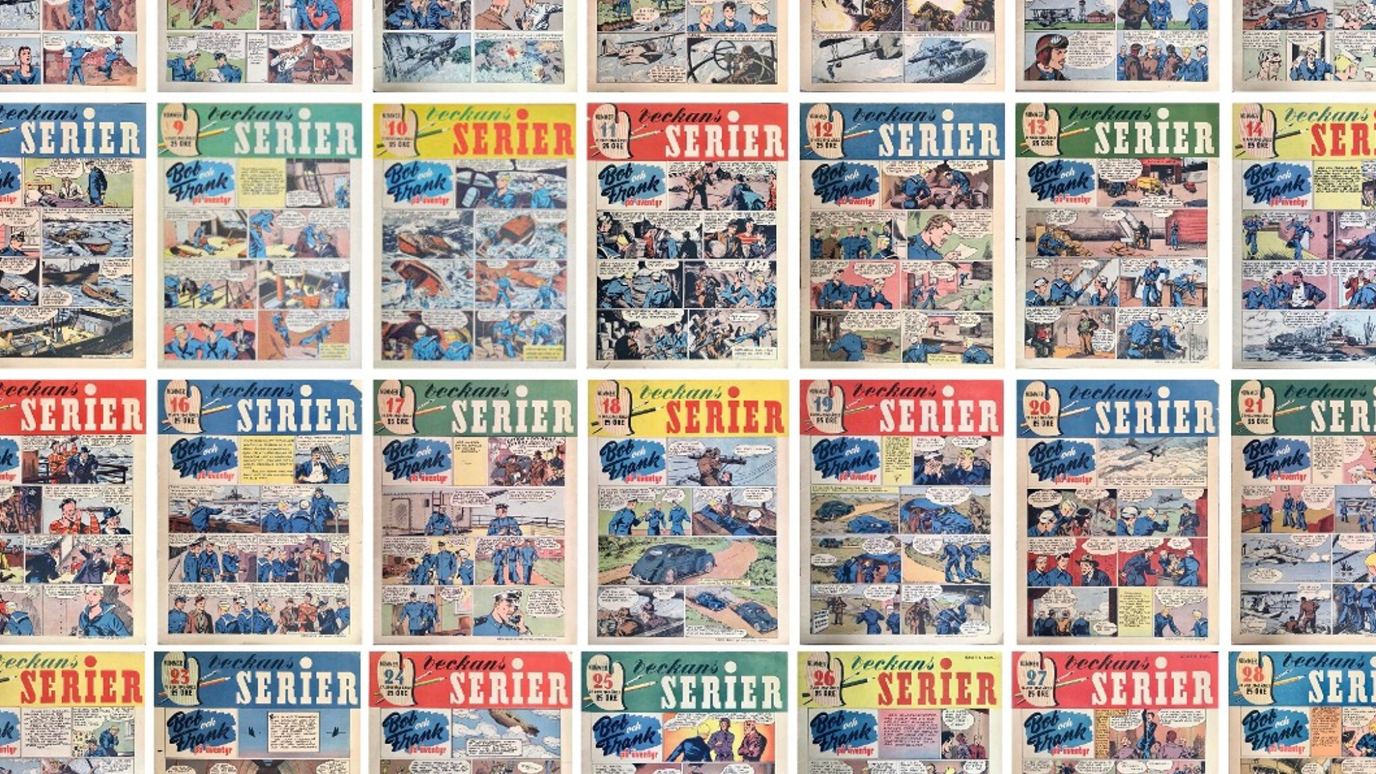 Veckans serier 1942-43