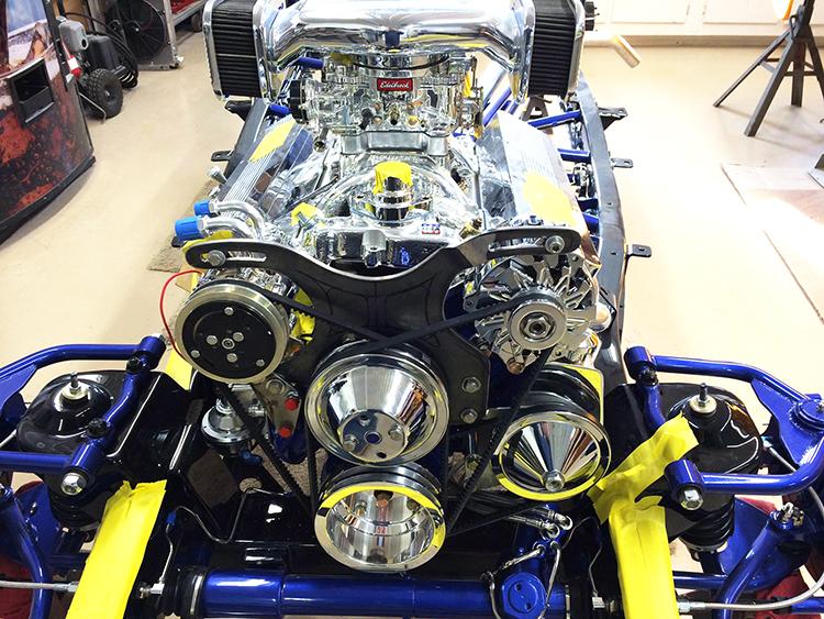 1948 Chevy 350 motor