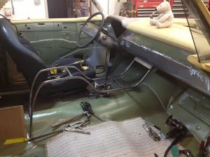 1957 Chevy Belair center console