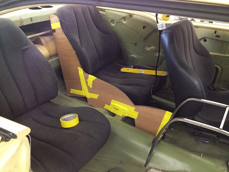 57 Chevy Belair seats