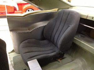 1957 Chevy Belair seats