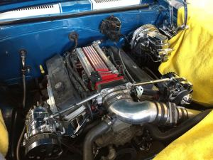 1967 Chevy Camaro engine