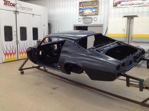 1971 Camaro body ready for paint