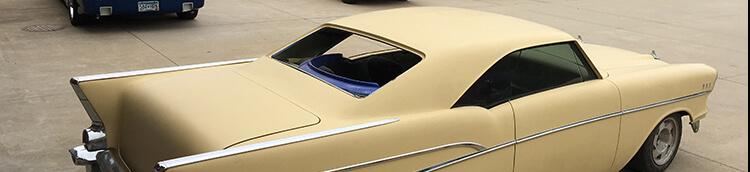 57 Chevy Belair chopped top