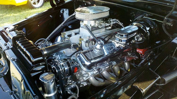 62 Chevy Truck engine