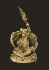 Will be cast into bronze