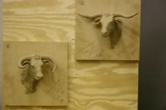 Steer Heads (wall mounts)