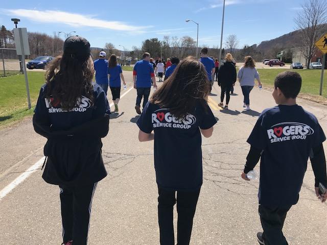 Rogers Participates in Heartwalk